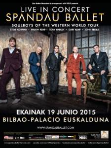 Spandau Ballet P.Euskalduna 19 junio