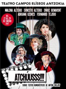Atchúusss Teatro Campos Elíseos del 27 al 29 de enero
