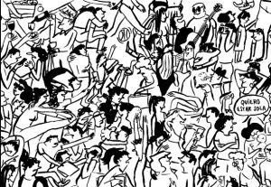 33 multitud