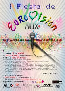 1ª Fiesta de Eurovision con AUX