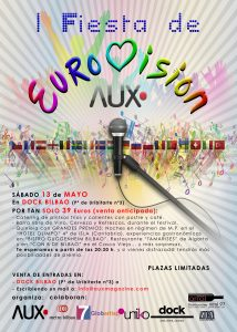 1ª FIESTA DE EUROVISION AUX